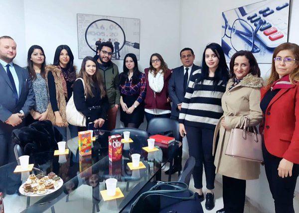 visite Cabinet d'expertise comptable Ben Hammed et Gadhoum
